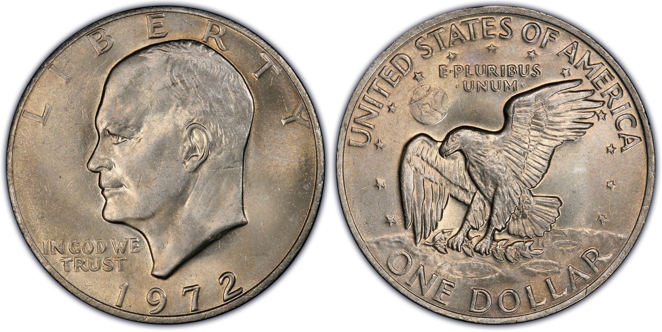 1972 $1 Type 2 (Regular Strike) - PCGS CoinFacts