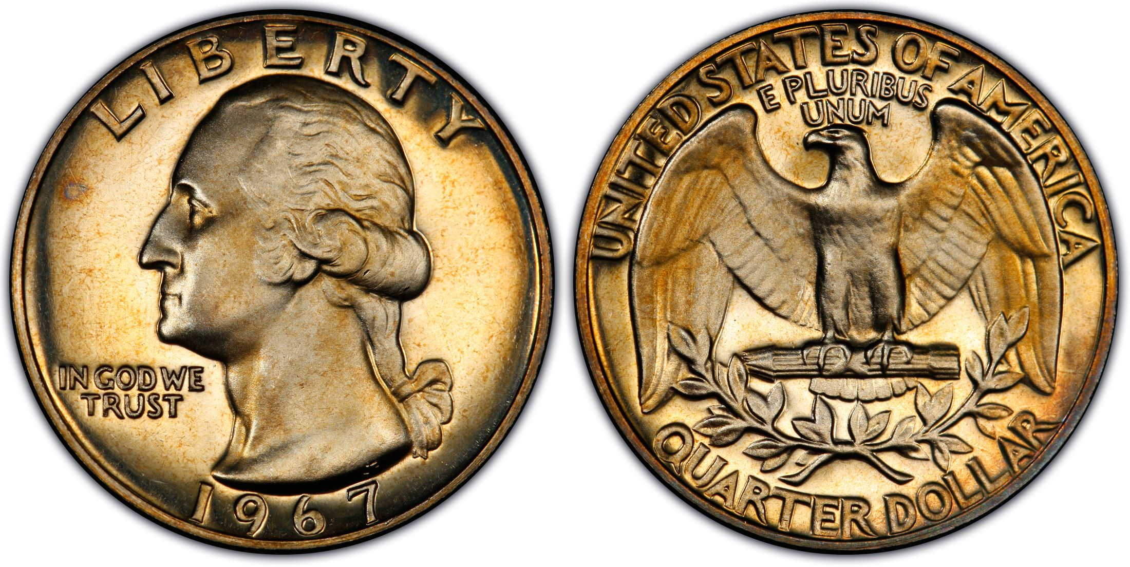 1967 25C SMS, DC (Special Strike) - PCGS CoinFacts