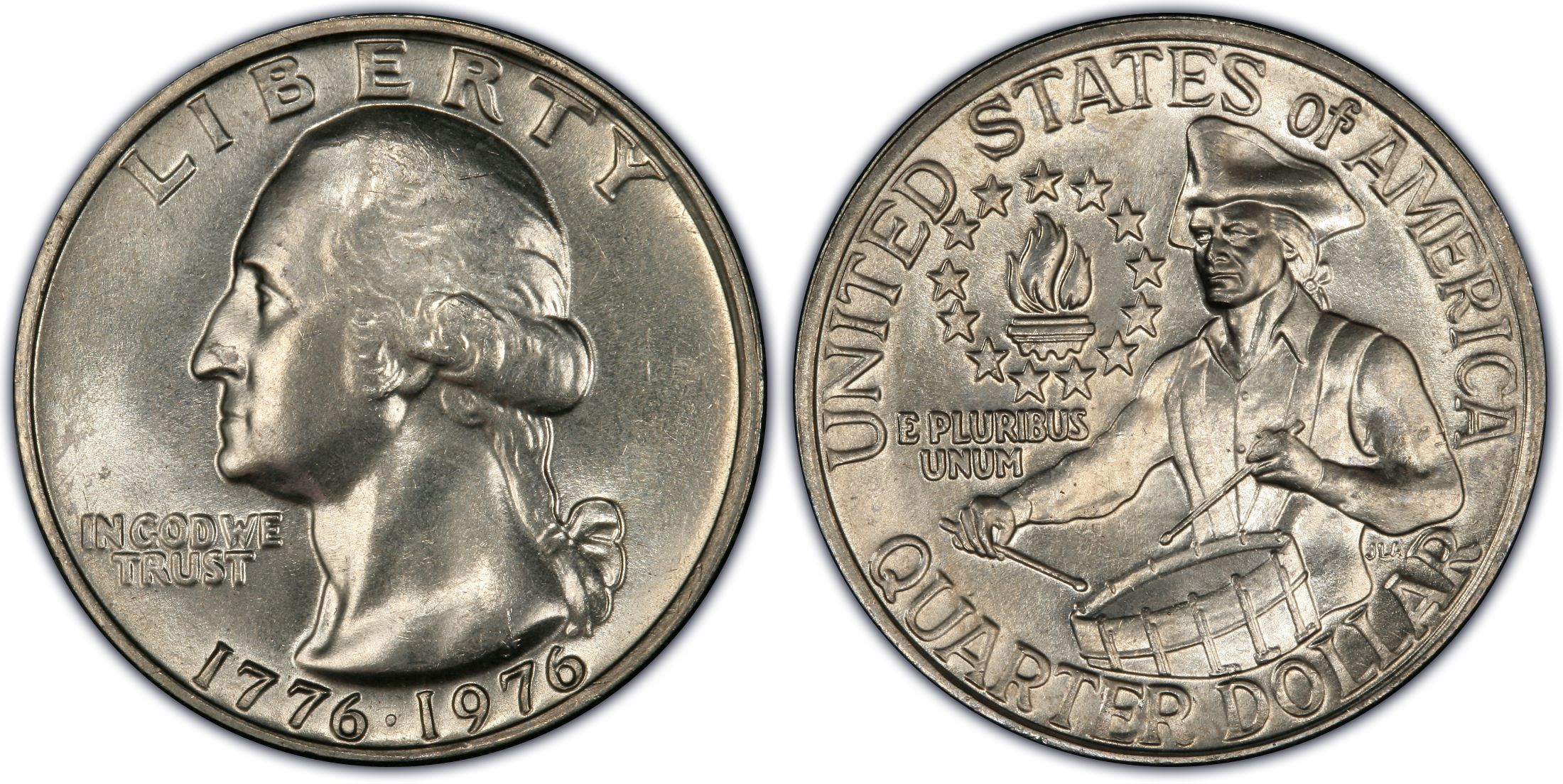 1976 25C Clad (Regular Strike) - PCGS CoinFacts