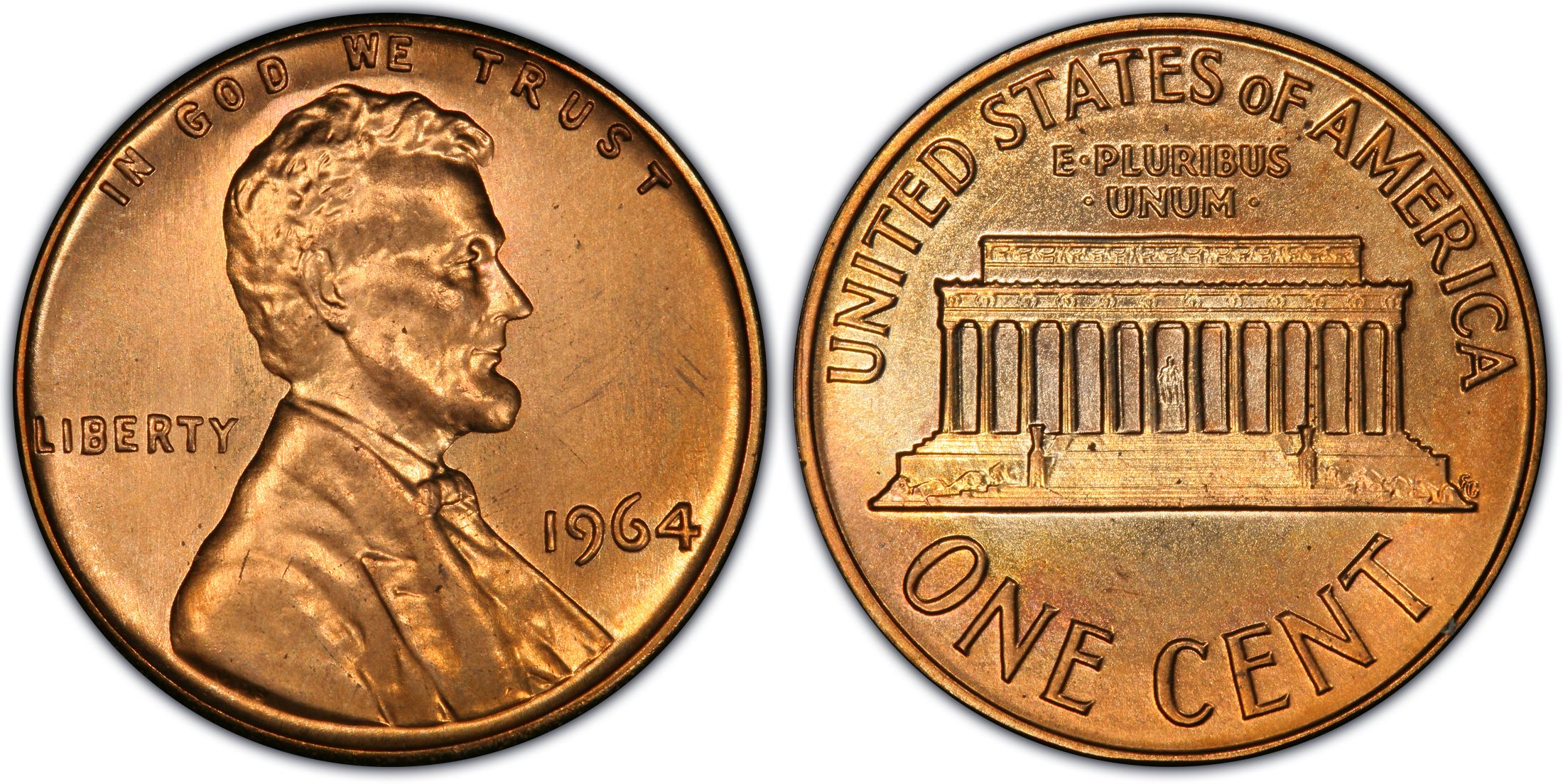 1964 1C SMS, RD (Special Strike) - PCGS CoinFacts