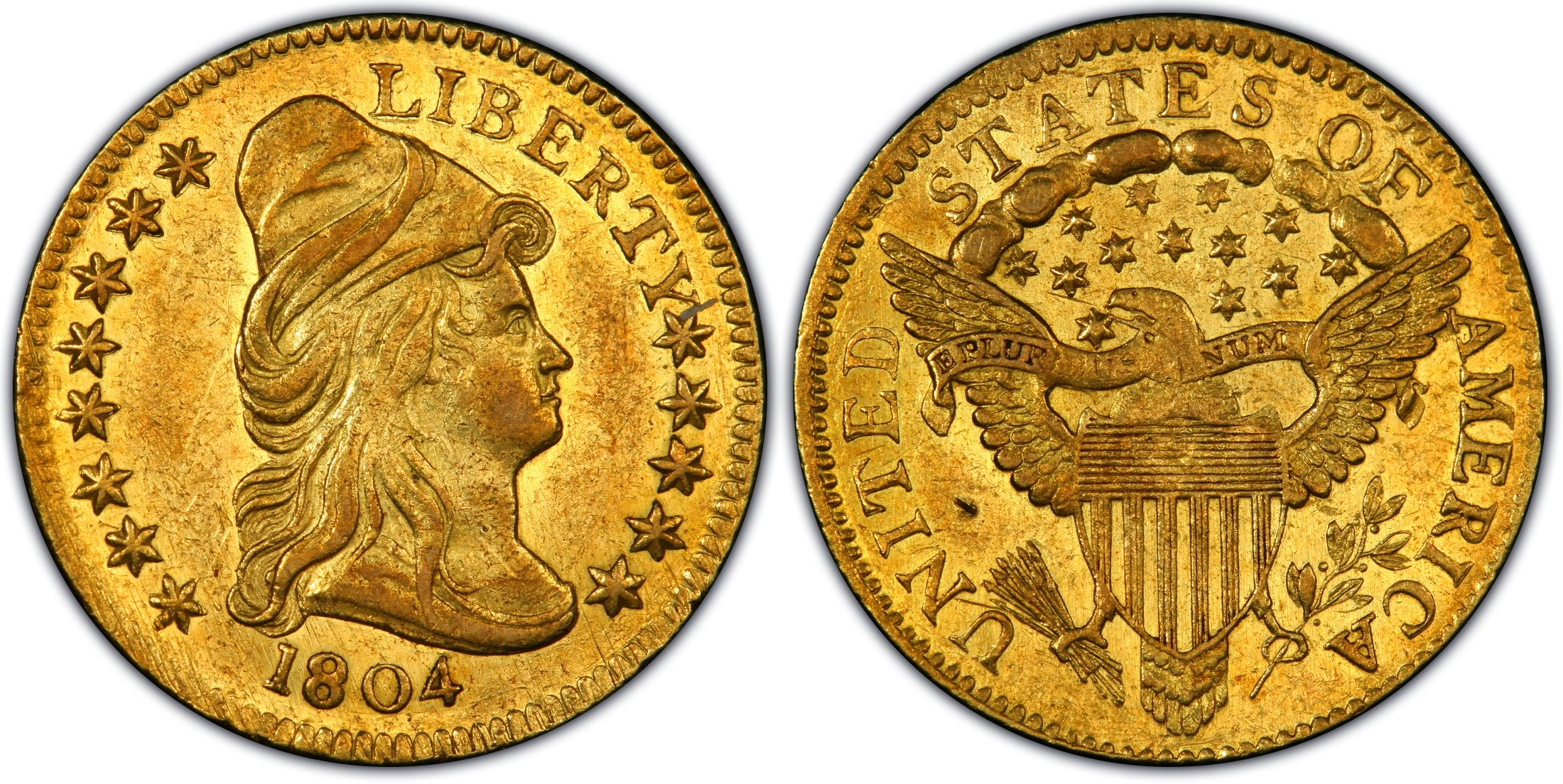 1804 250 13 stars reverse regular strike pcgs coinfacts pcgs au58 publicscrutiny Image collections