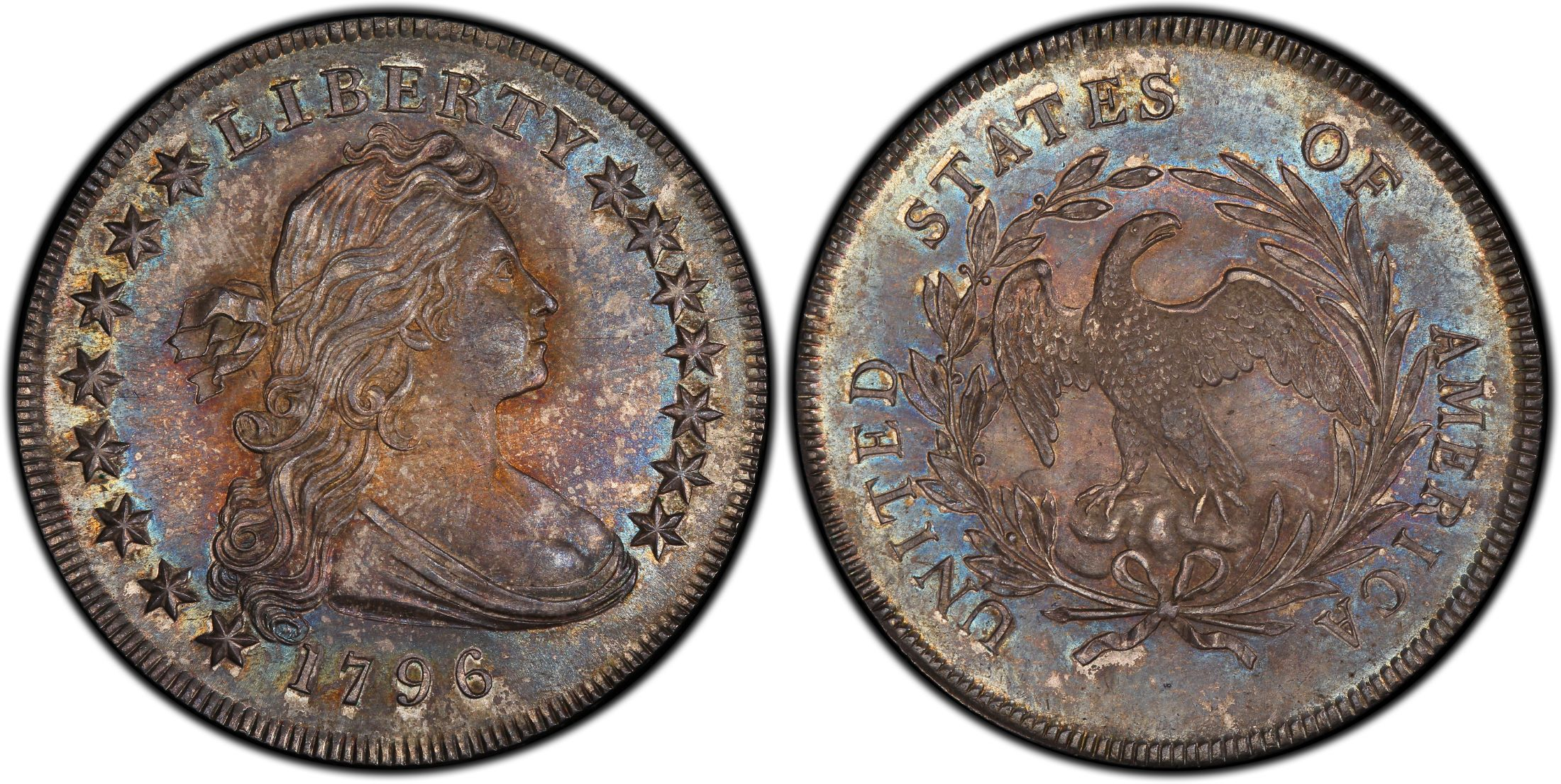 Bronze Letters For Sale 1796 $1 Small Date Sm Letters Regular Strike  Pcgs Coinfacts