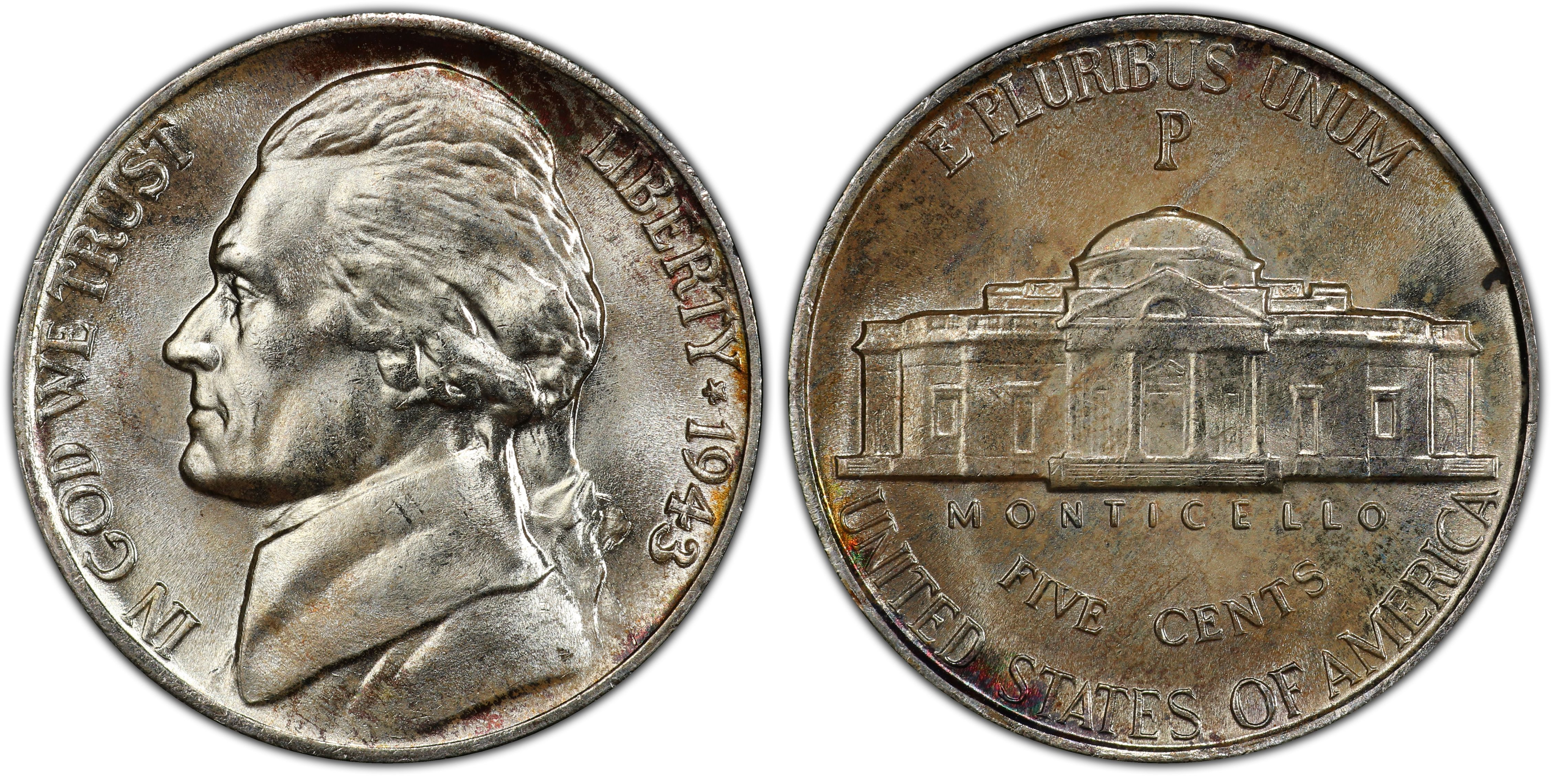 1943-P 5C Doubled Die Obverse (Regular Strike) - PCGS CoinFacts