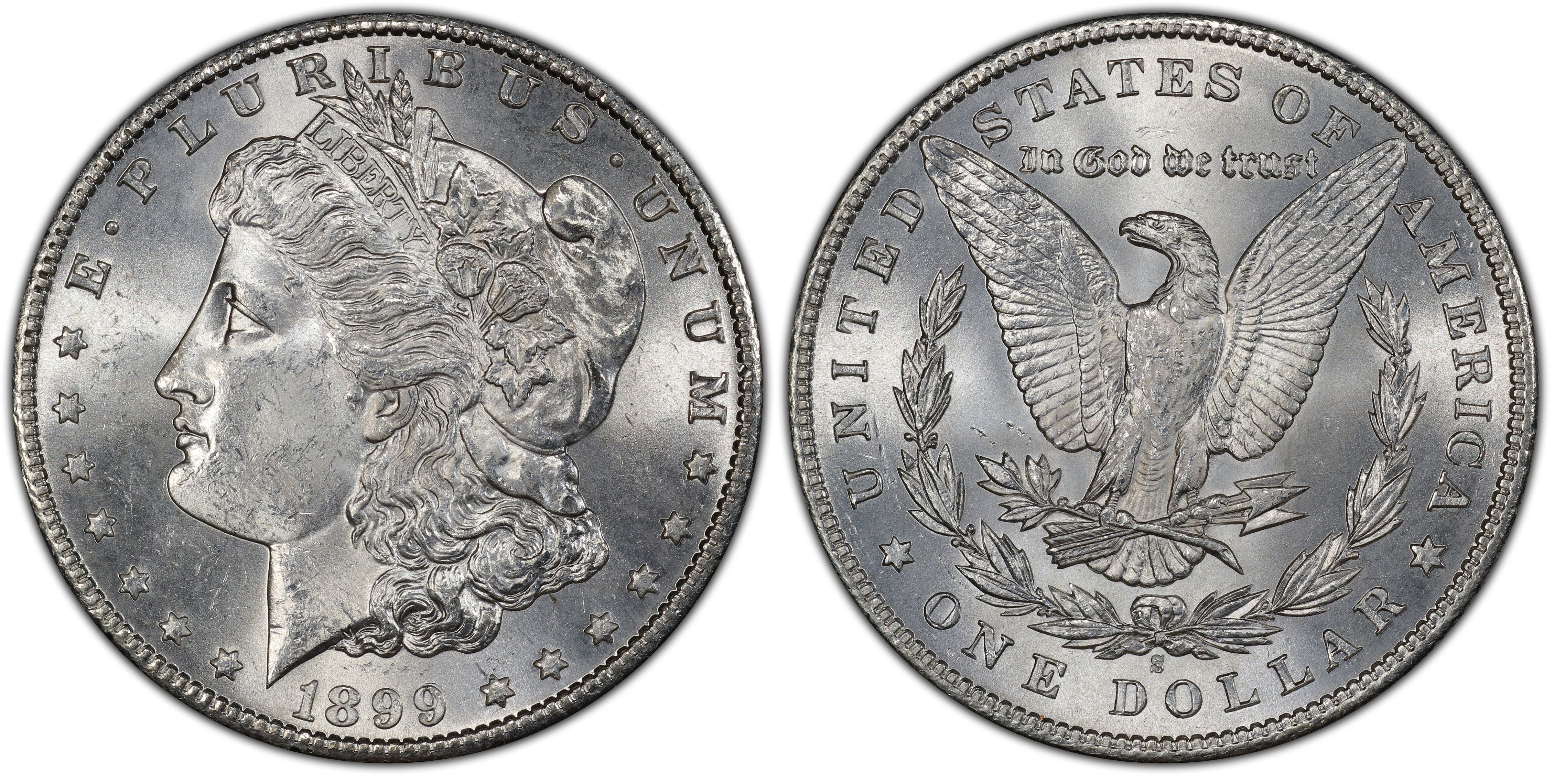 1899-S $1 VAM 7 Doubled Date (Regular Strike) - PCGS CoinFacts