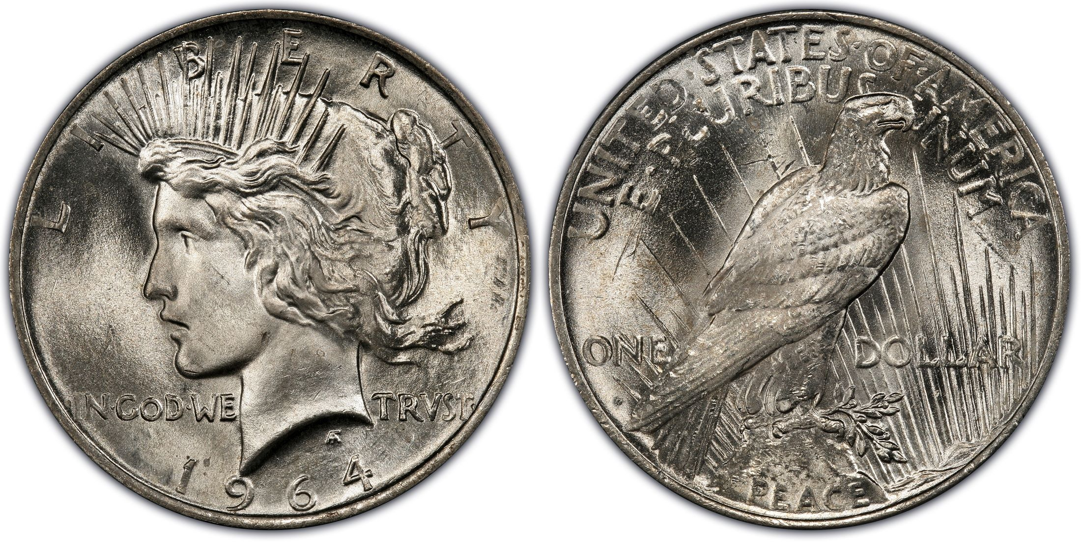 1964 D 1 Regular Strike Pcgs Coinfacts