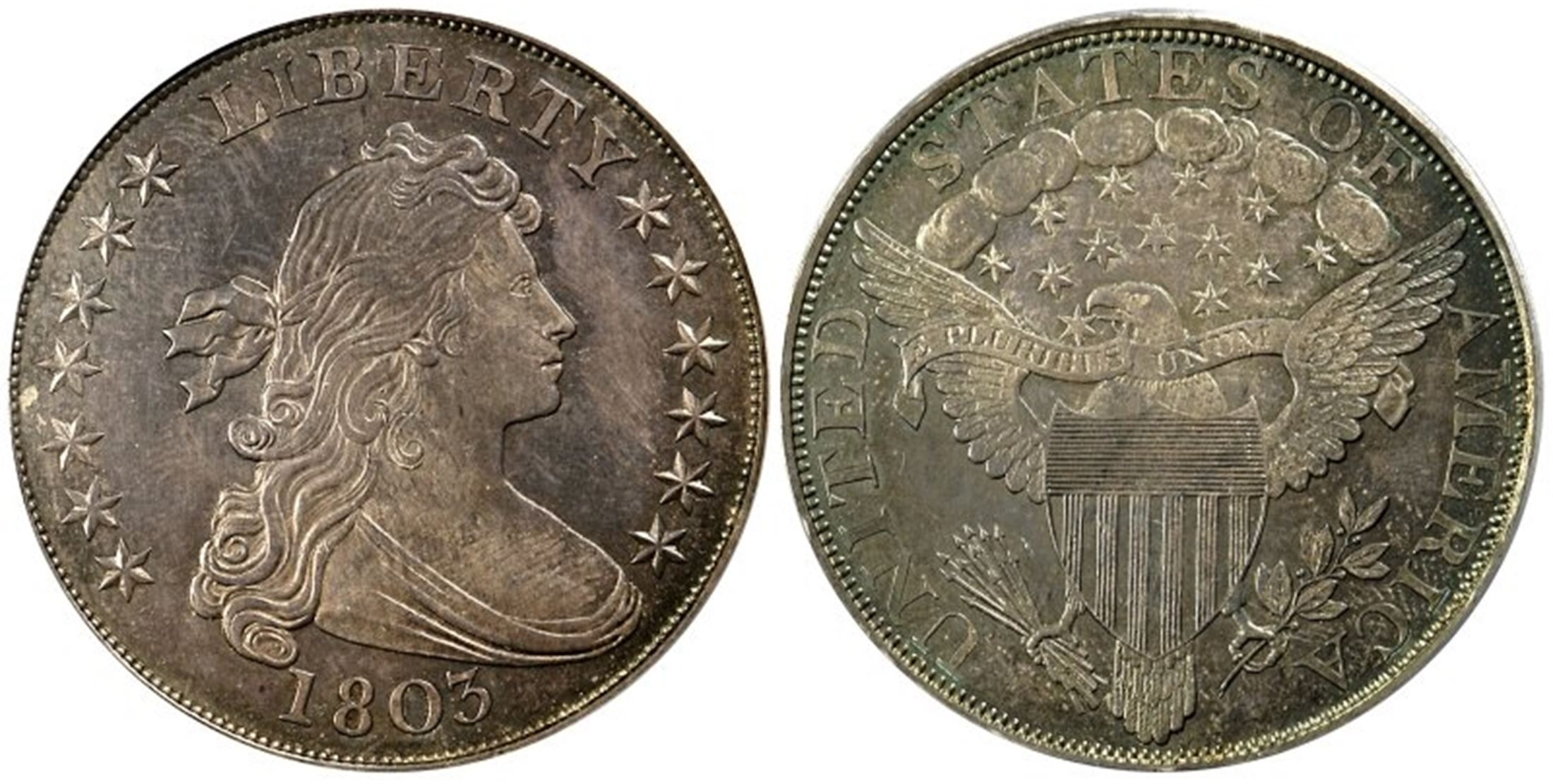 1803 1 Proof Pcgs Coinfacts