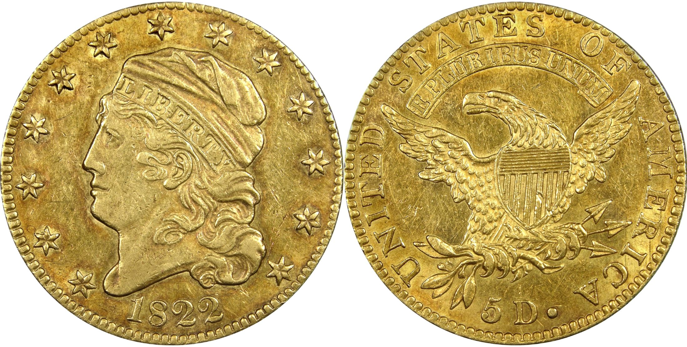 Image courtesy of the National Numismatic Collection at the Smithsonian  Institution