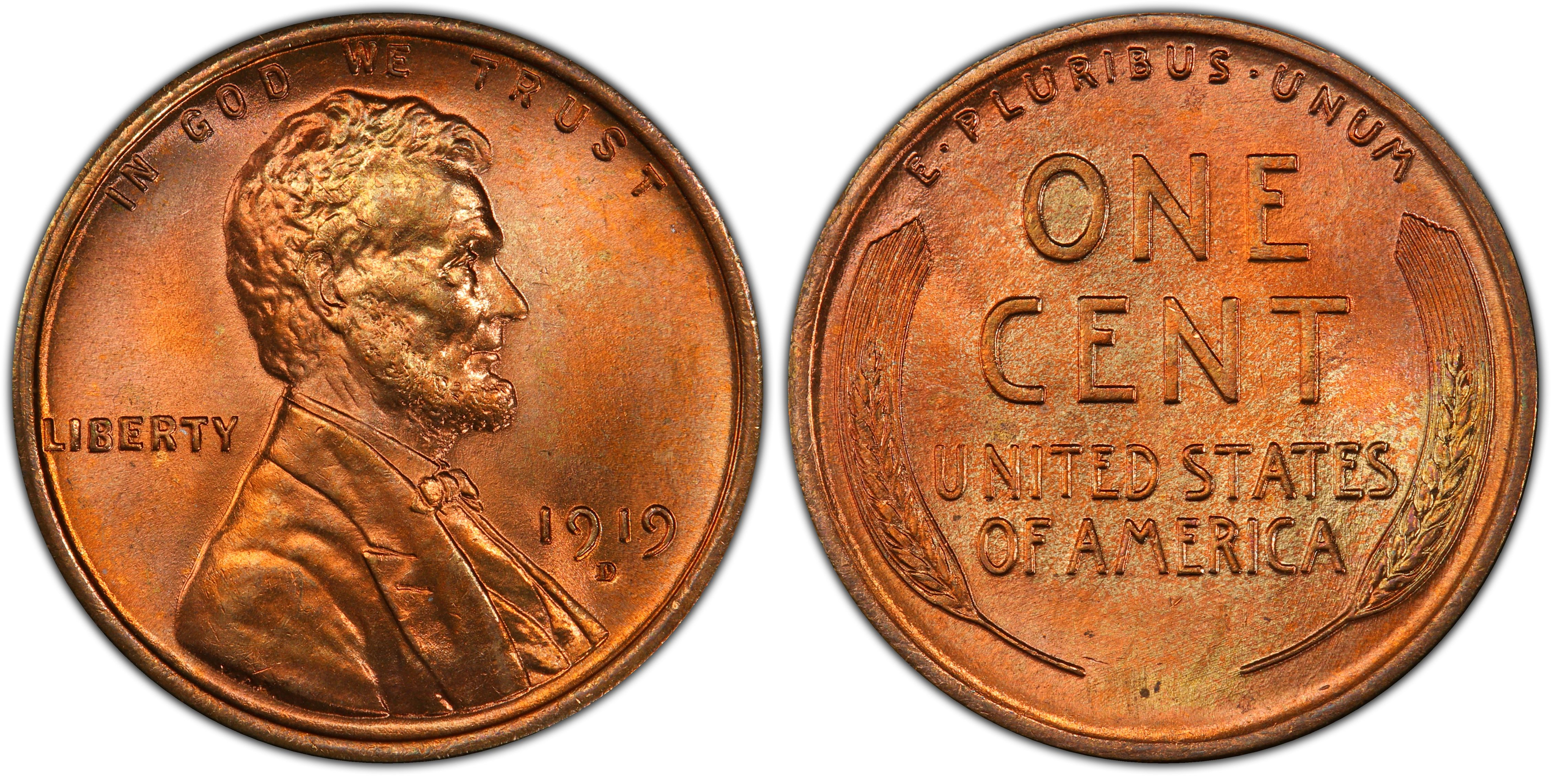 1952 1c Lincoln Wheat Cent Penny US Coin Uncirculated Mint State