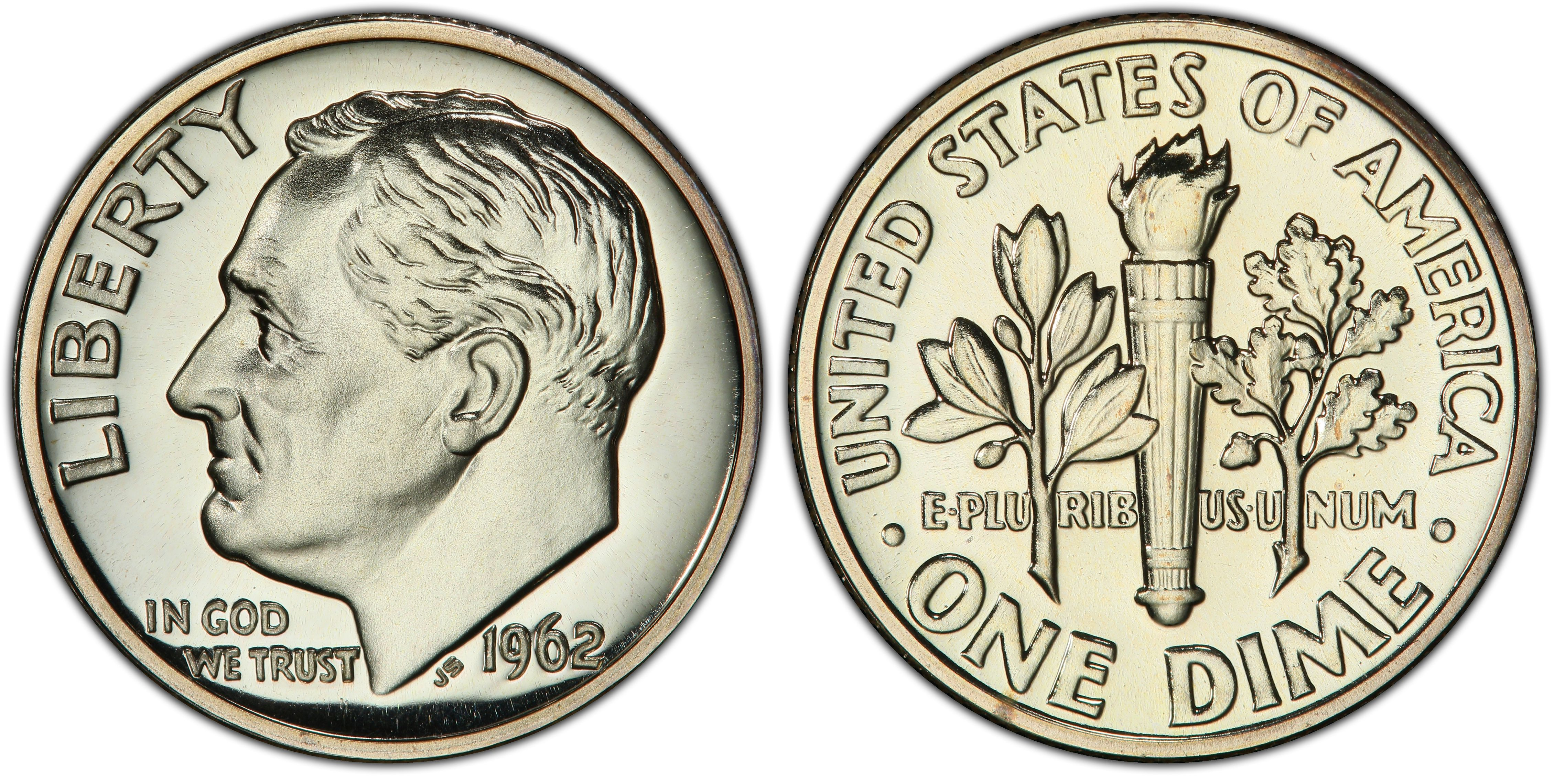 Clad Deep Cameo Proof 2018-S Proof Roosevelt Dime