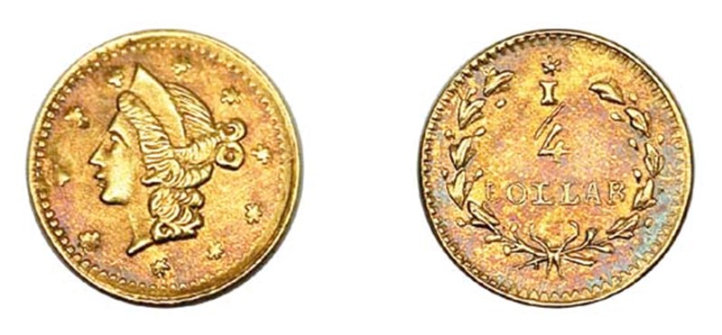 """PCGS AU58, ex Jay Roe, Lot 19<BR>Image courtesy of <a href=""""http://www.bowersandmerena.com"""" target=""""_blank"""">Bowers and Merena Auctions</a>"""