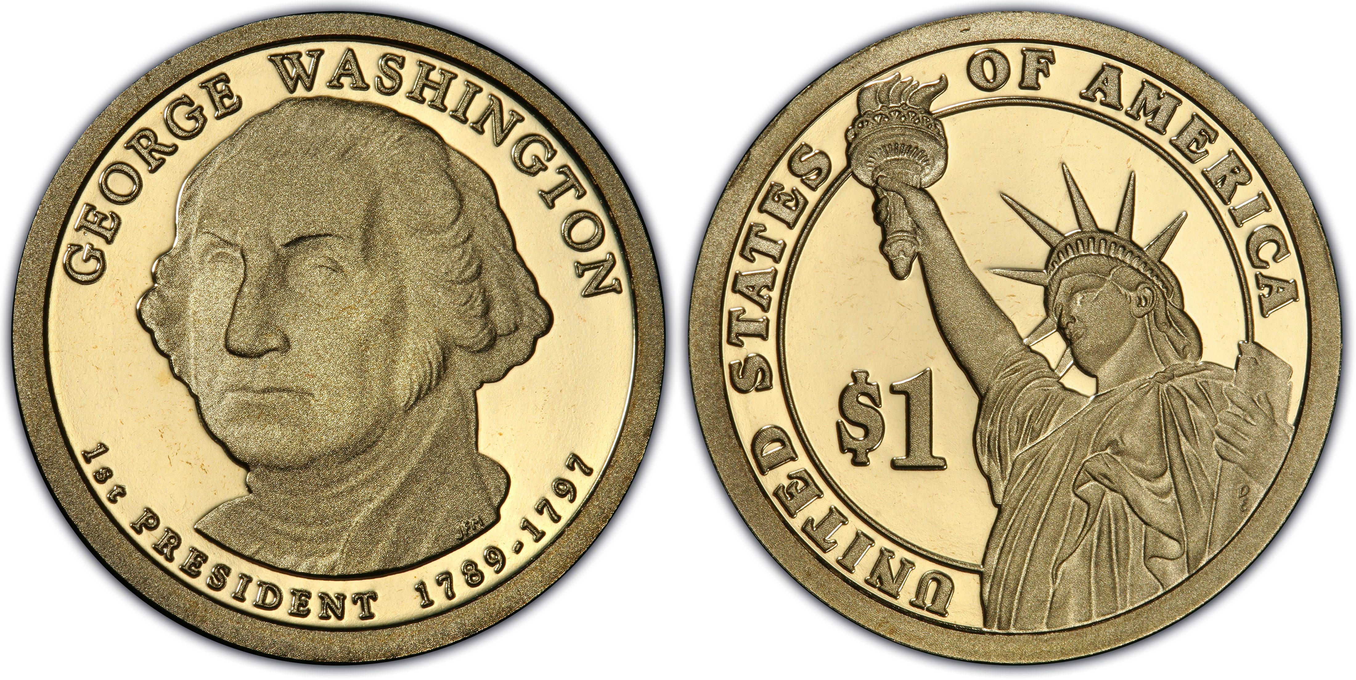 2007 S Presidential Dollar Set PCGS PR69DCAM