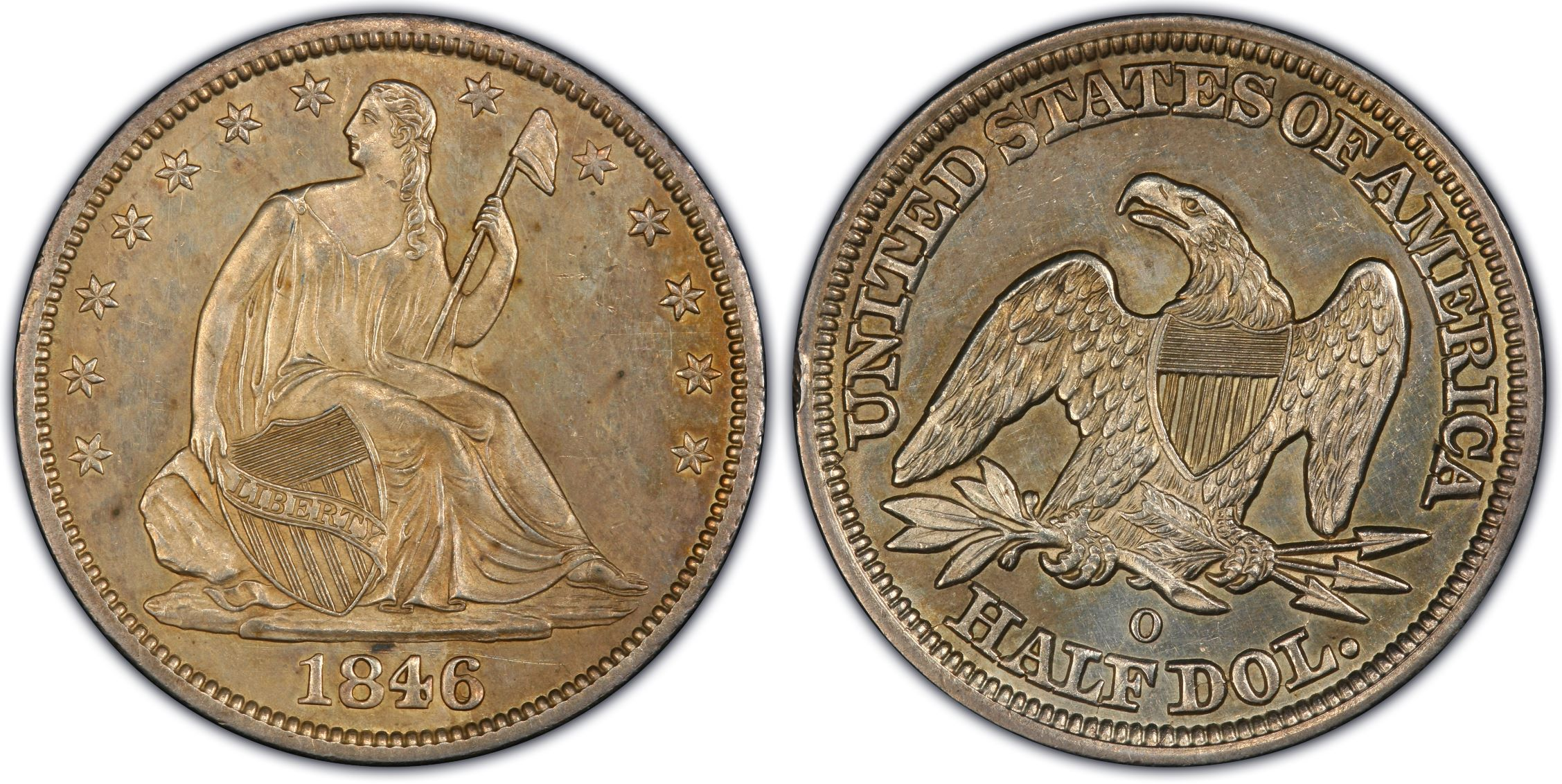 GFRC Open Set Registry - J B N 1846 Seated  50C