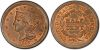 PCGS #1234 (MS, Red and Brown)     65