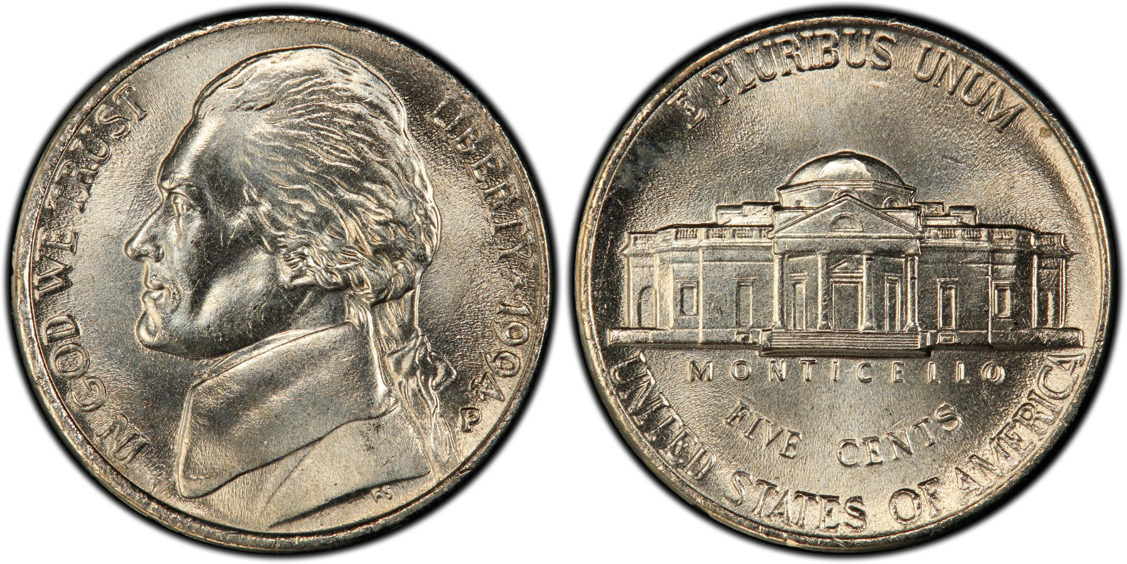 1993-P NGC MS65 6FS FULL STEPS JEFFERSON NICKEL YOU PICK THE ONE YOU WANT