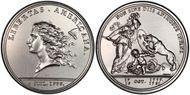 (1776) Medal Libertas Americana Silver - 2000 Restrike MS65