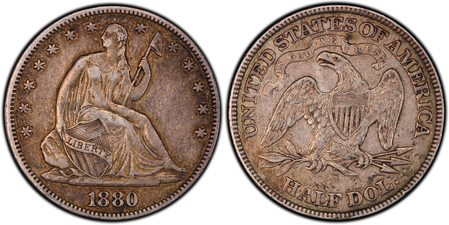 GFRC Open Set Registry - J B N 1880 Seated  50C
