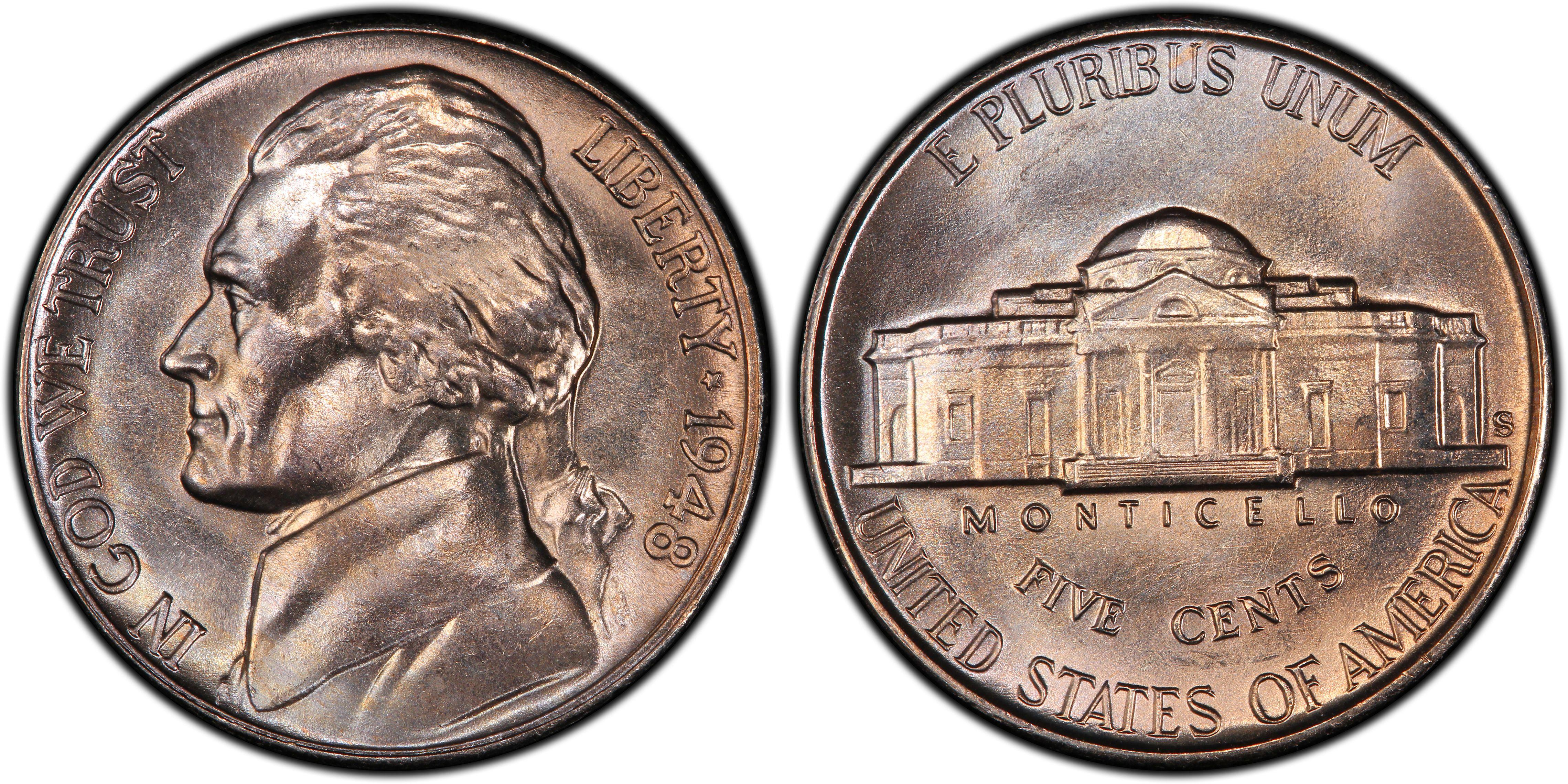 1948-S 5C, FS (Regular Strike) Jefferson Nickel - PCGS CoinFacts