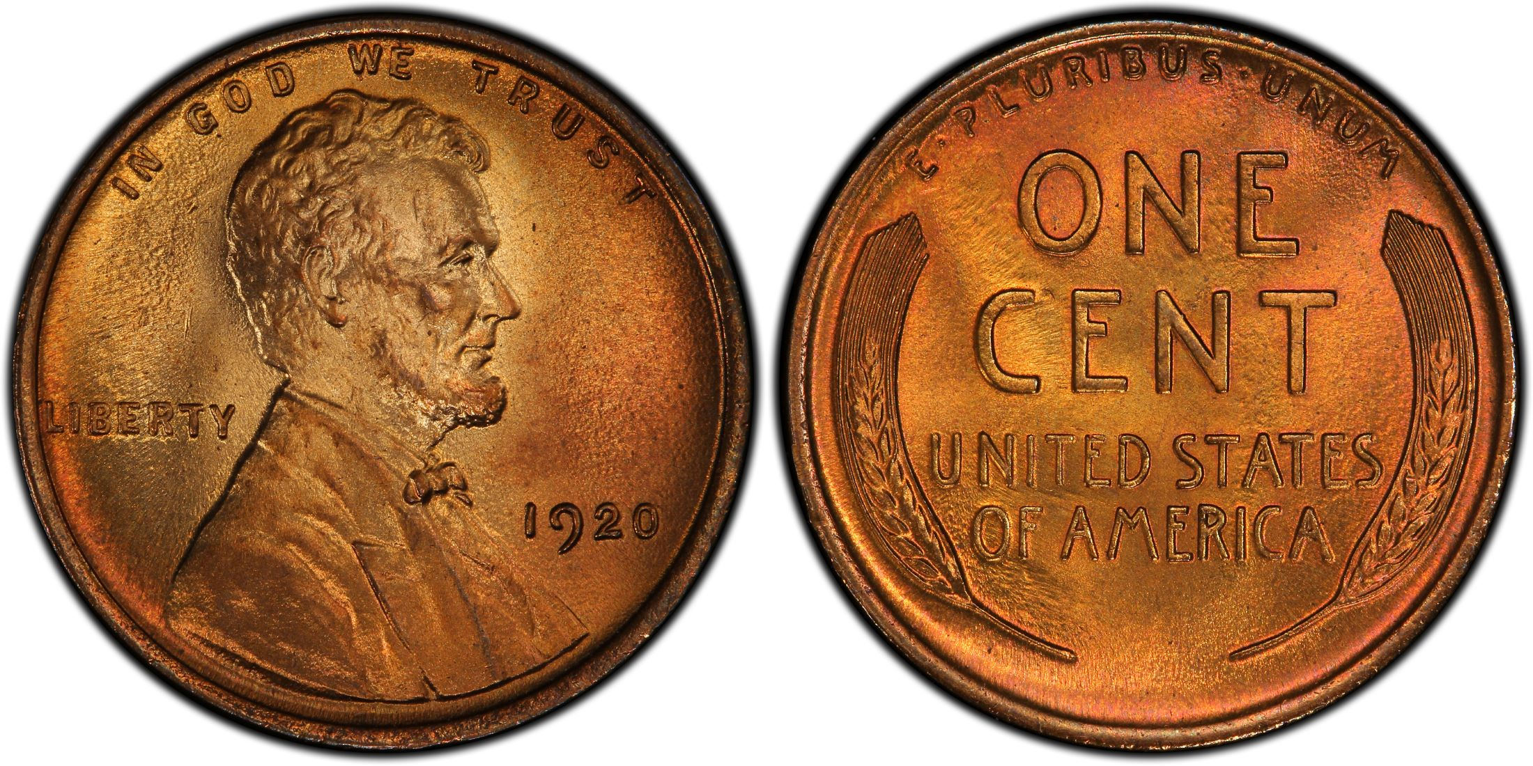 1920-S  LINCOLN WHEAT CENT #6