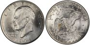 1971-S $1 Silver MS65