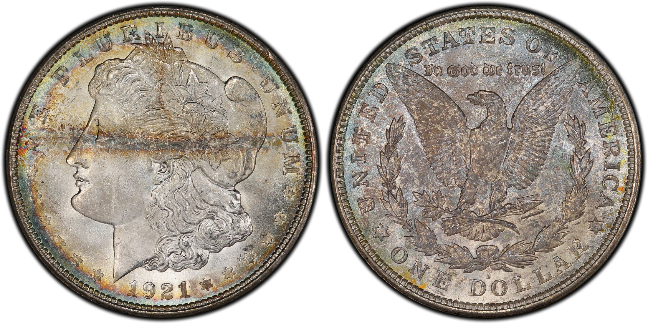 3 Different Mints  P O S Morgan Dollars MS63 NGC//PCGS Certified  1878-1904