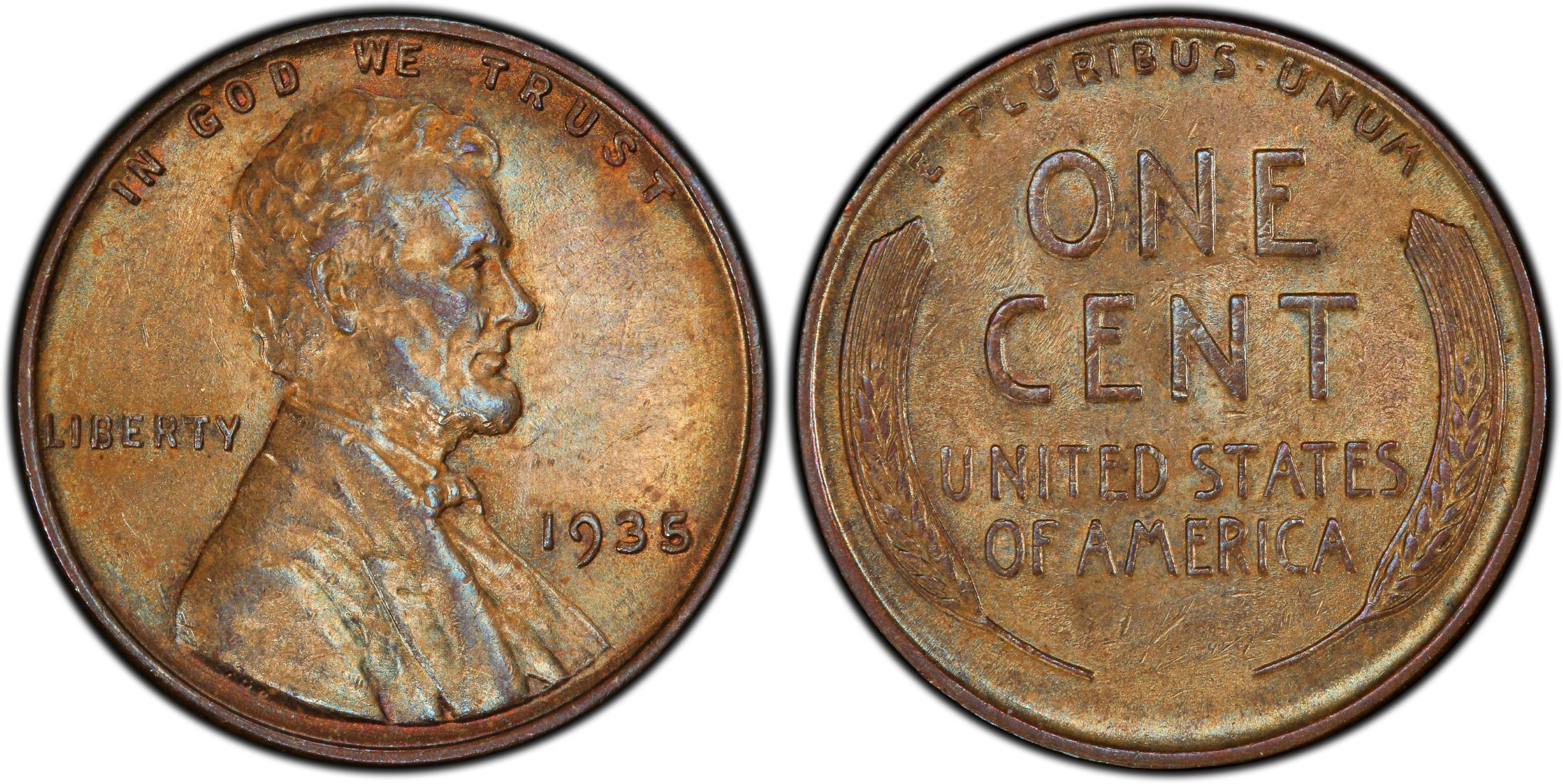 1935  LINCOLN WHEAT CENT #4