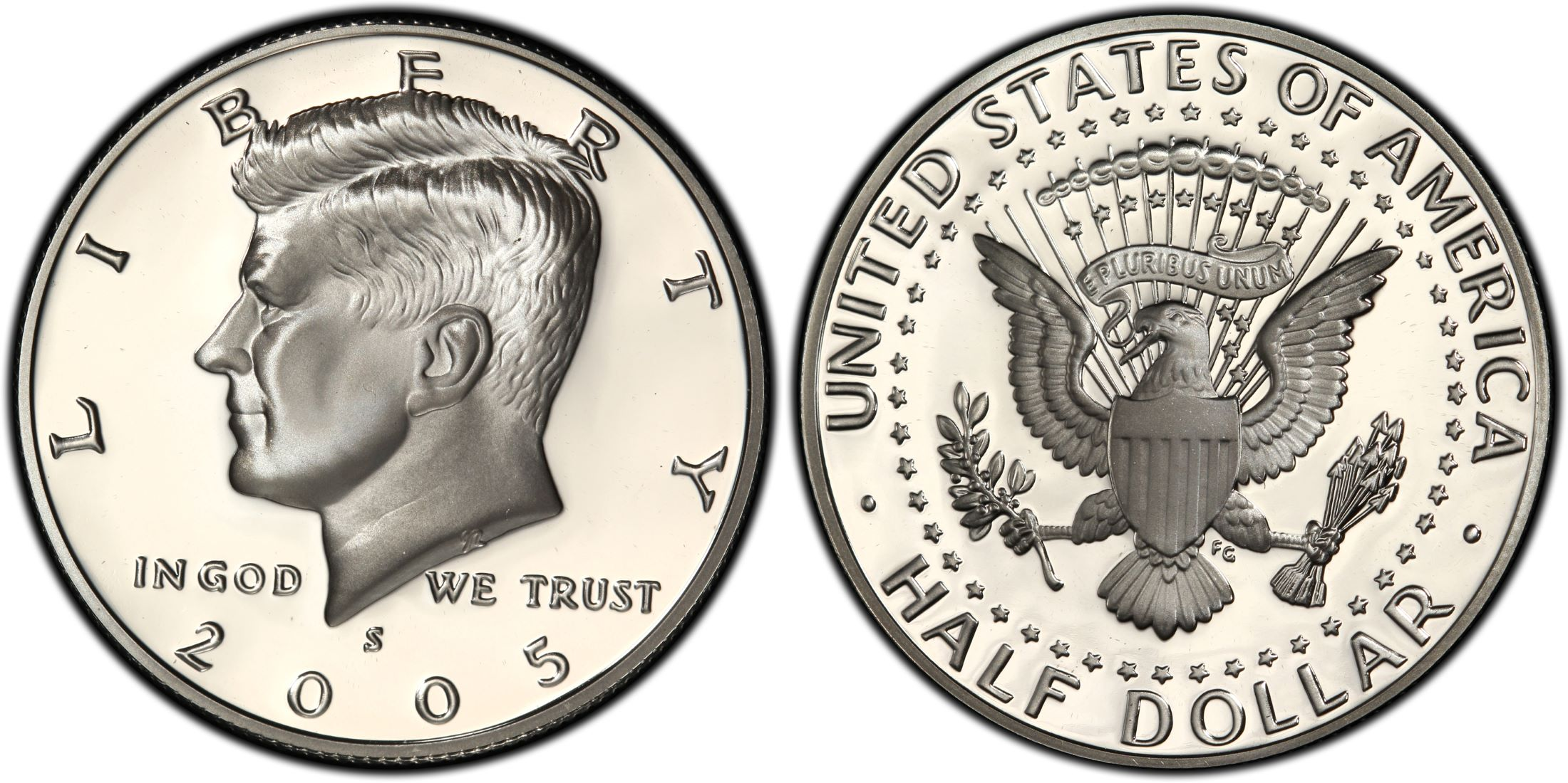 2005-S USA CLAD KENNEDY HALF DOLLAR PCGS PR69DCAM NICE!!!!!
