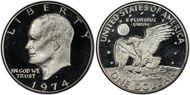1974-S $1 Silver PR69DCAM