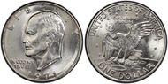 1971-D $1  MS65