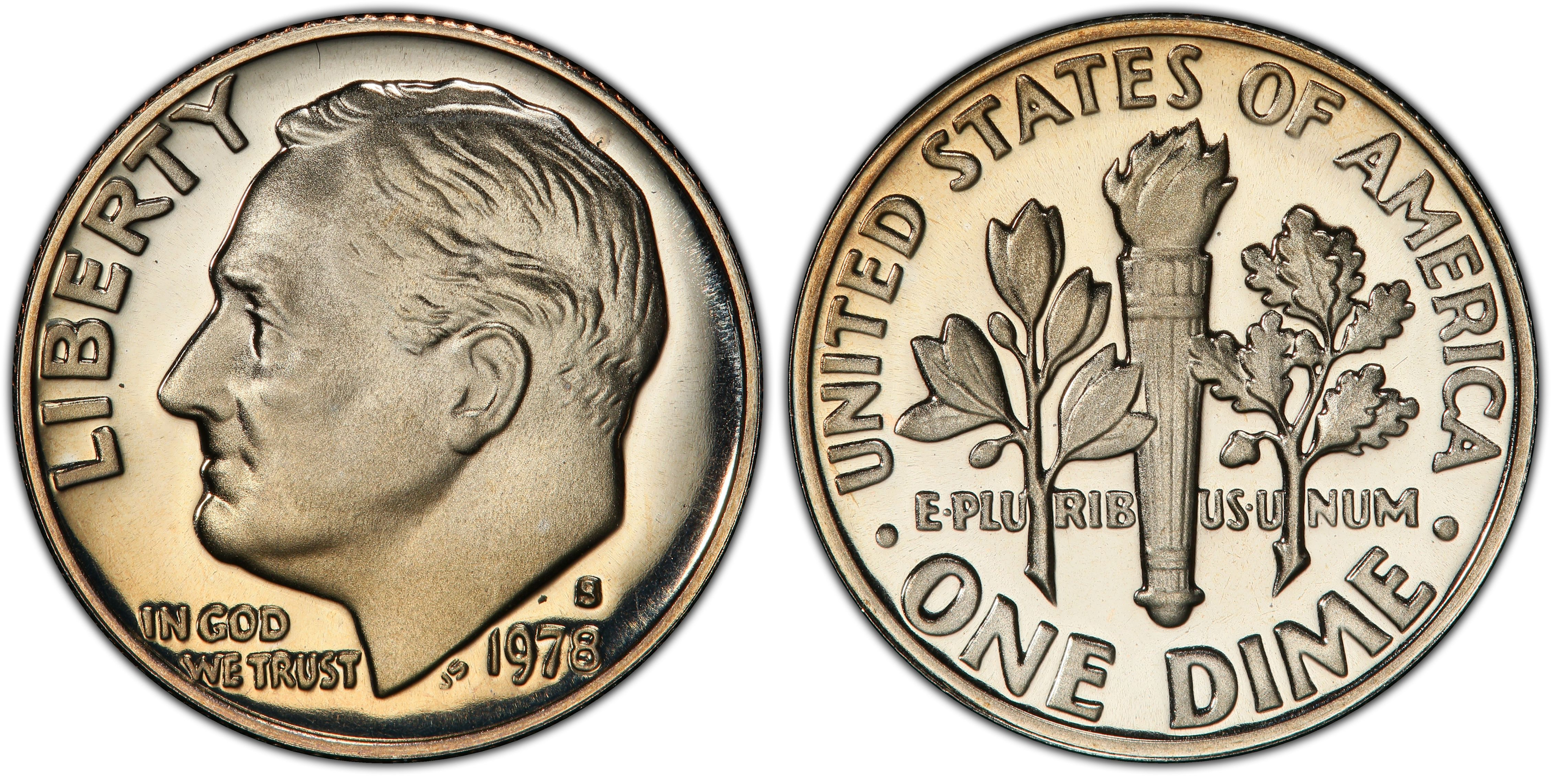 1978-S  PROOF DIME