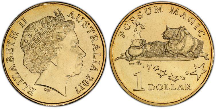 """2017 Australia Possum Magic $1 One Dollar /""""Lamingtons/"""""""
