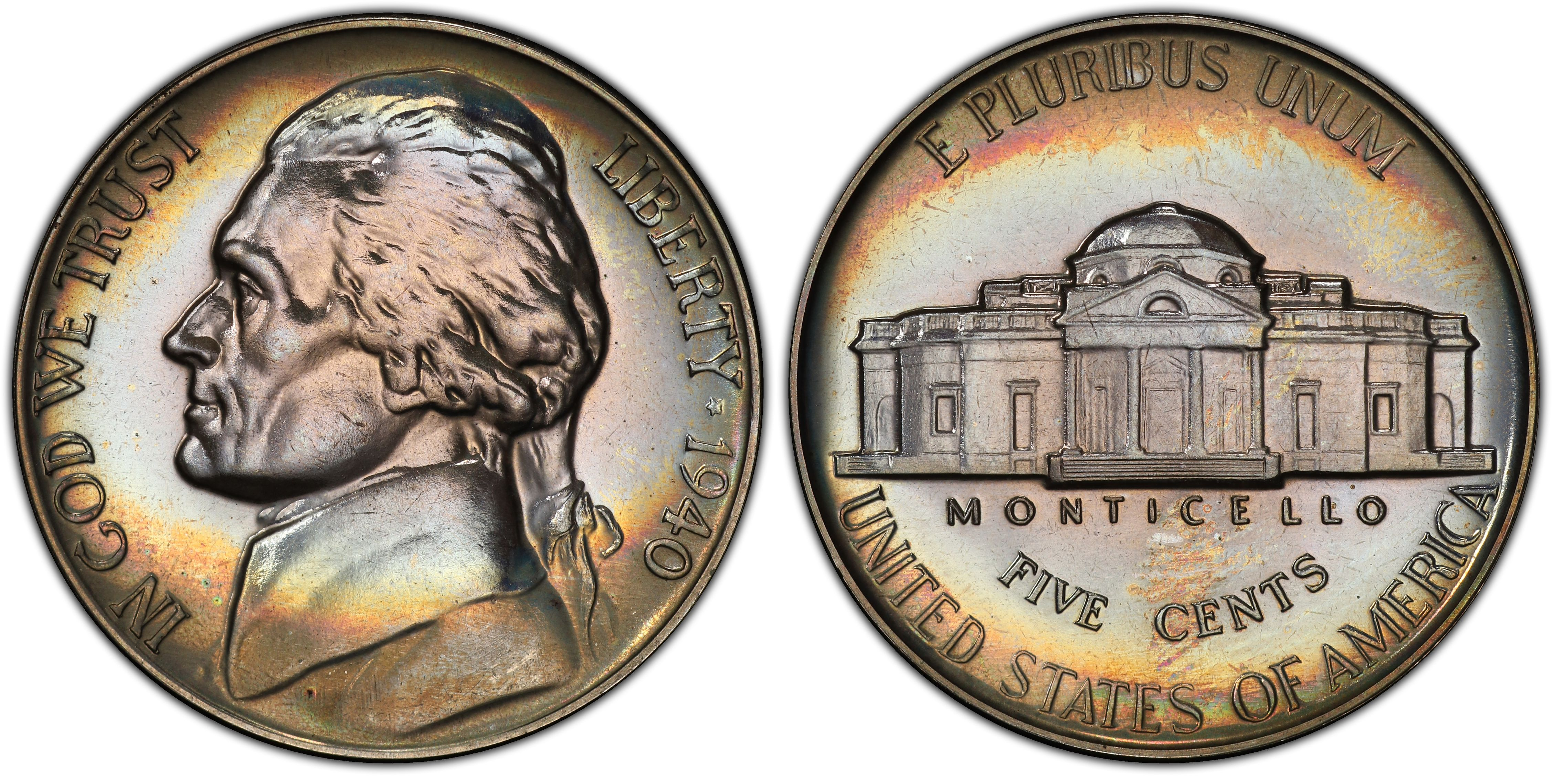 1977-S Proof Jefferson Nickel Full Steps Nice Coins Priced Right Shipped FREE