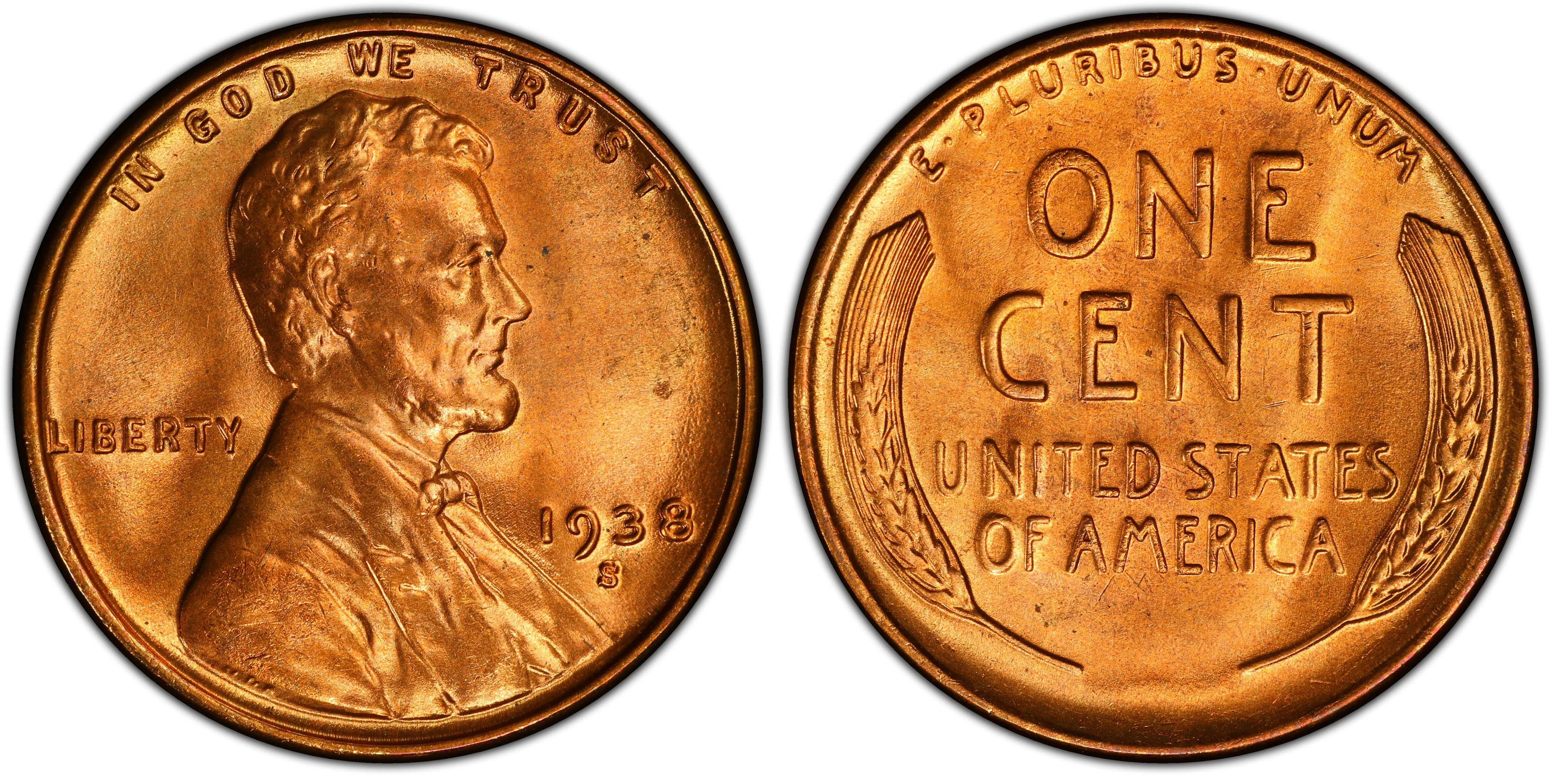 1934PD 1935PDS 1936PDS 1937PDS 1938PDS 1939PDS Complete 17 coin Lincoln Cent Set