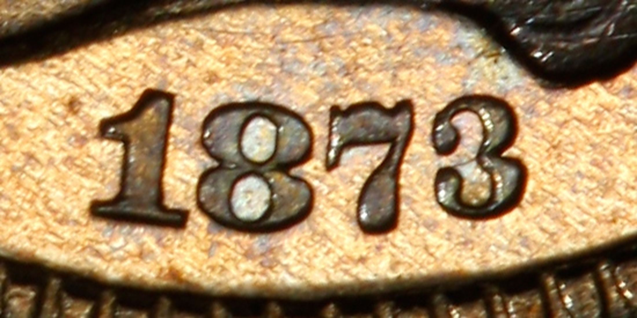 1873 3CN Closed 3 (Proof) Three Cent Nickel - PCGS CoinFacts
