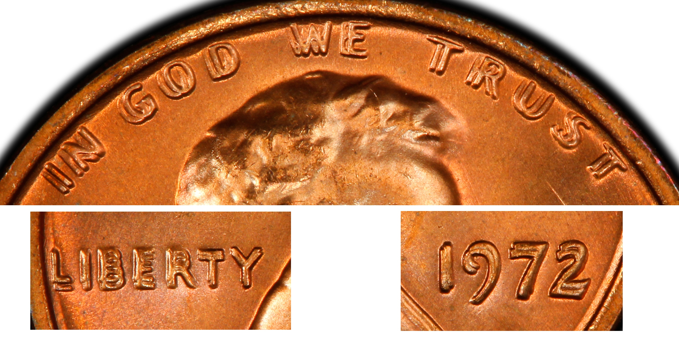 1972 1C DDO FS-101 (033 3), RD (Regular Strike) Lincoln Cent