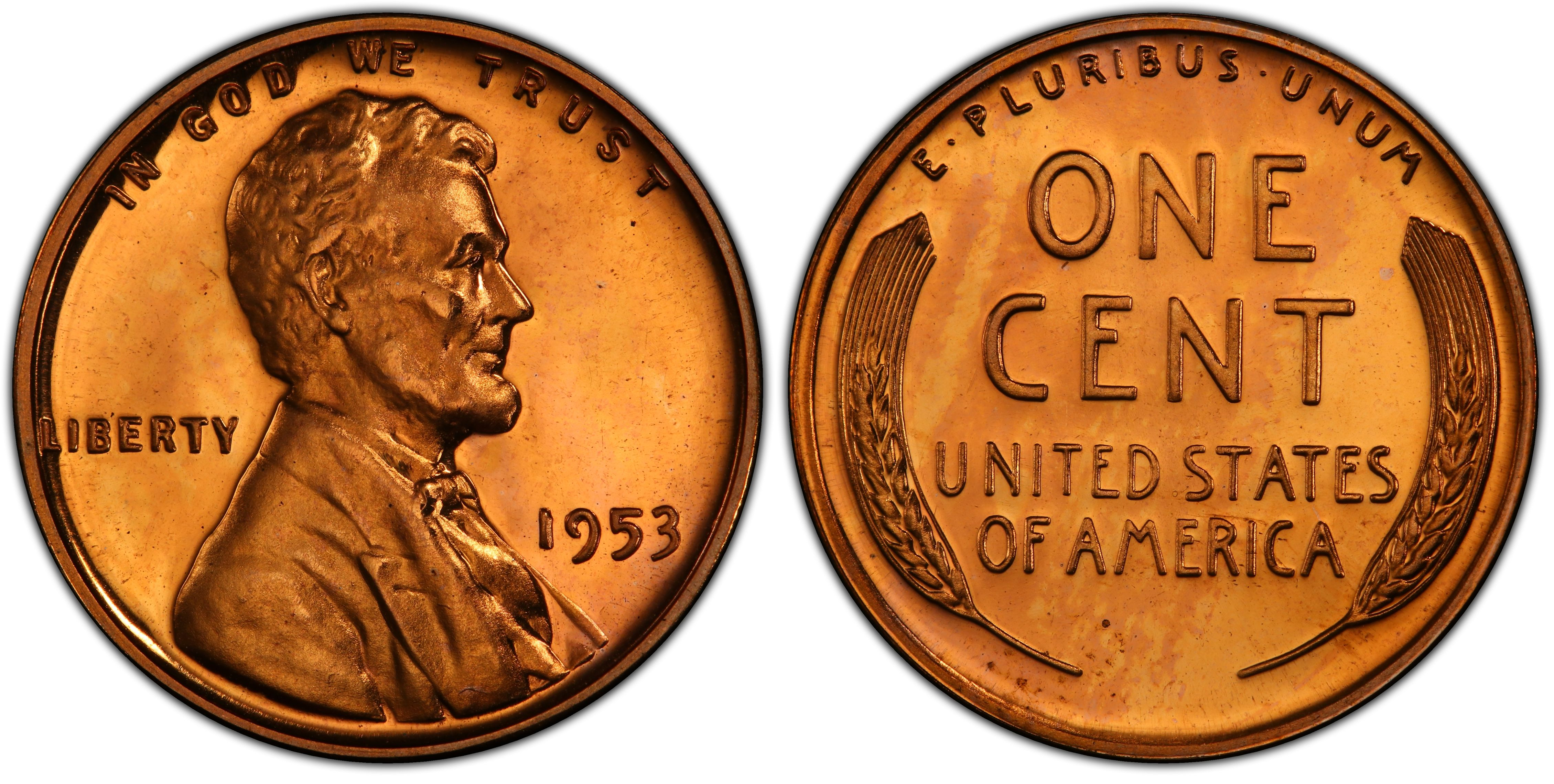 Collectible Coin 1953-S Lincoln Wheat Penny VERY GOOD ALBUM FILLER*SALE***