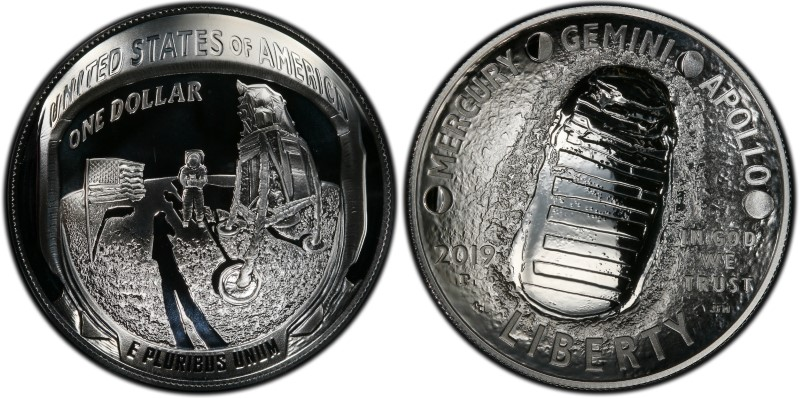 2019 P Innovation Dollar $1 Delaware PCGS MS66 Position A FIRST STRIKE