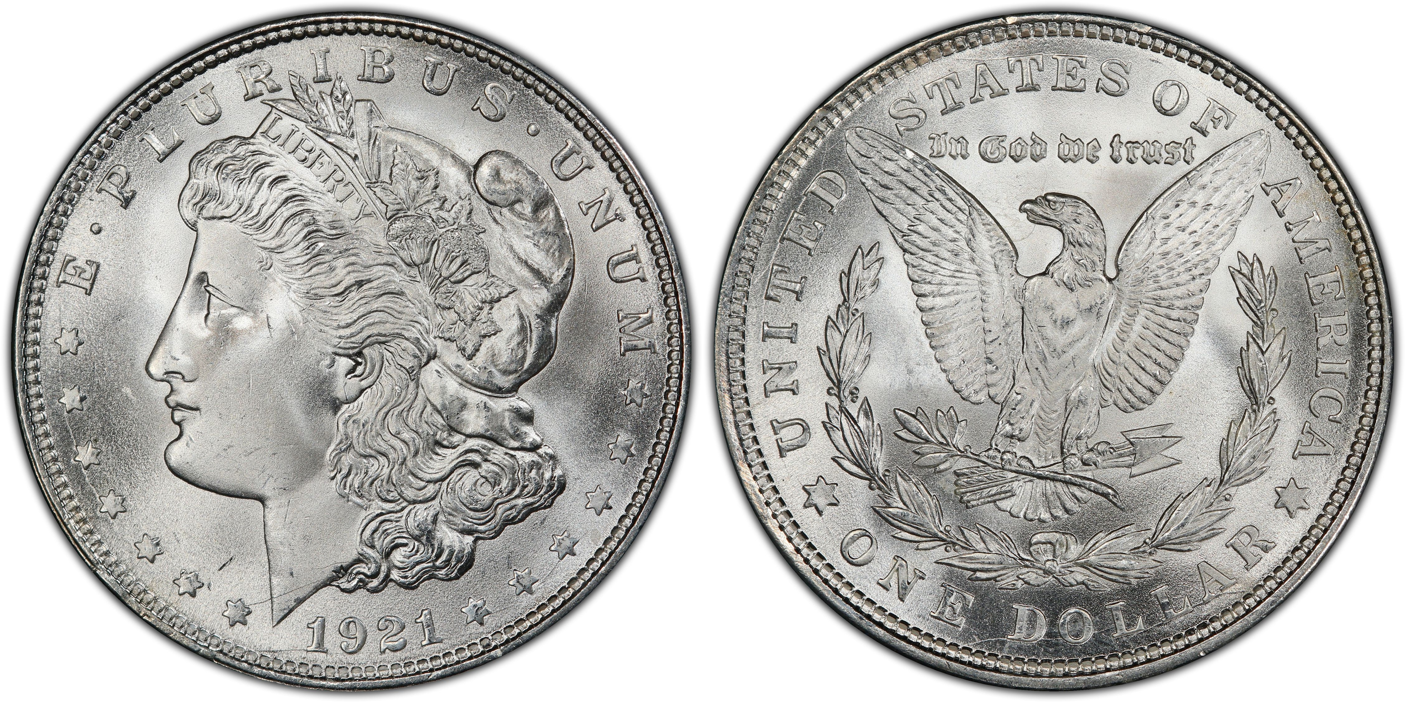 1881-s Blast White Unc Morgan Silver Dollar from a fresh Roll Will Grade Out