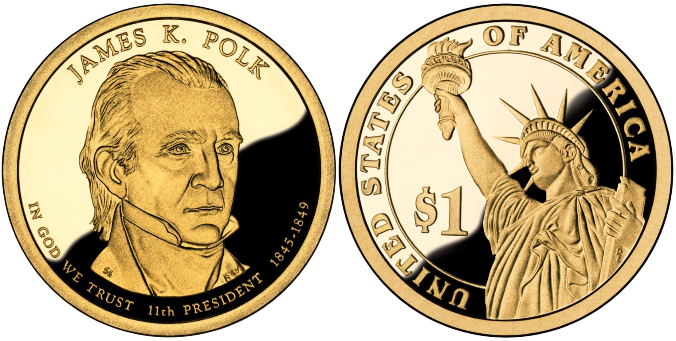 2009 S President ZACHARY TAYLOR 20 Proof Presidential Dollars In Coin Keeper
