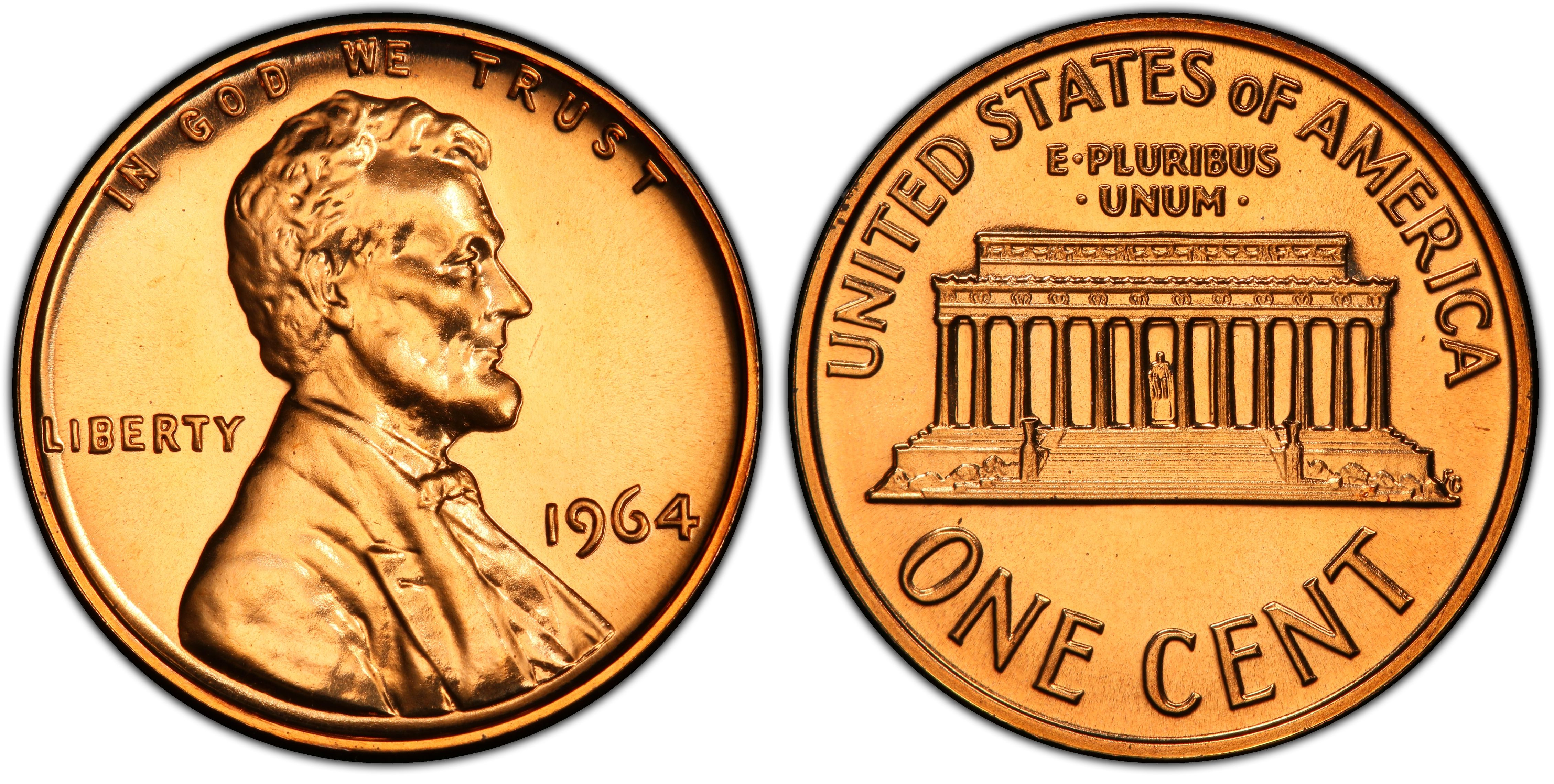 Mint Copper Coin 1c from Proof Set 1978 S Lincoln Penny One-Cent Proof U.S