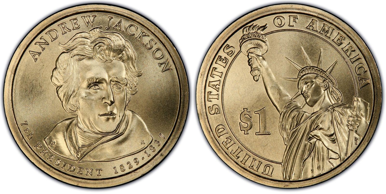 2008 D Martin Van Buren Presidential Dollar ~ Pos A ~ From U.S Mint Roll