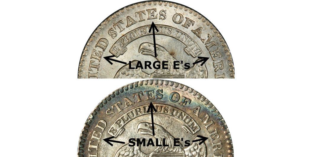 Large E's vs Small E's Comparison
