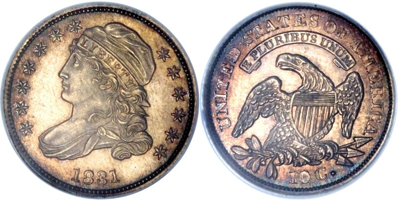 """PR64 estimated grade<BR>Image courtesy of <a href=""""http://www.ha.com"""" target=""""_blank"""">Heritage Numismatic Auctions</a>"""