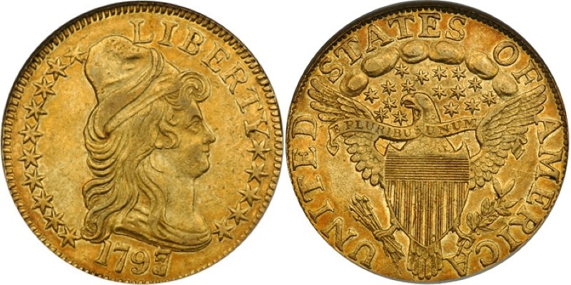 "AU53 estimated grade<BR>Image courtesy of <a href=""http://www.goldbergcoins.com"" target=""_blank"">Goldberg Coins & Collectibles</a>"