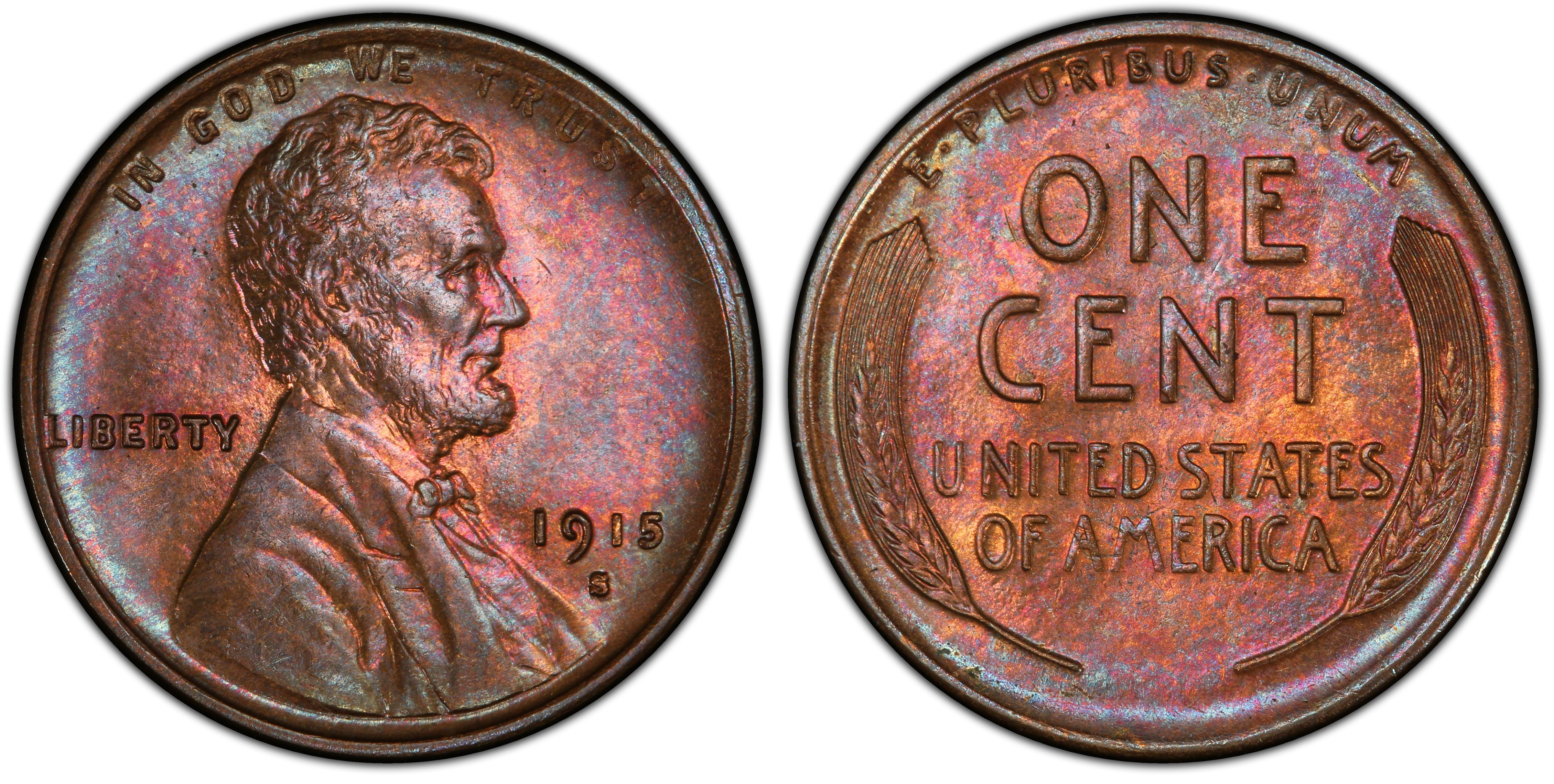 1915  LINCOLN WHEAT CENT #5