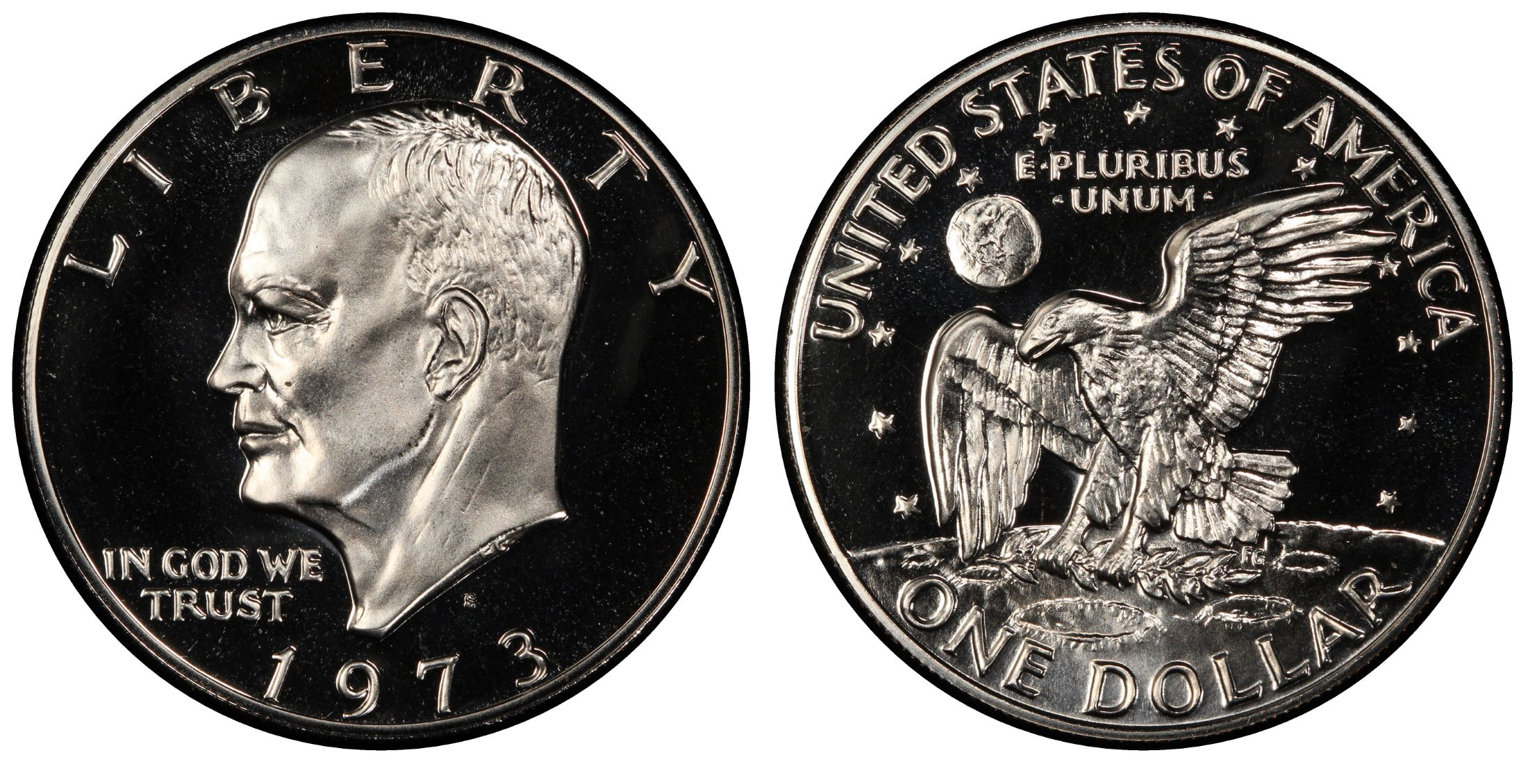 1973 Eisenhower Proof Dollar