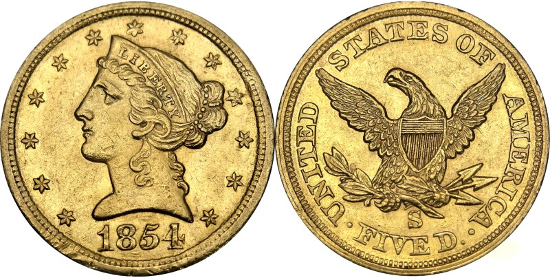 """<BR>Image courtesy of the <a href=""""http://americanhistory.si.edu/collections/numismatics/"""" target=""""_blank"""">National Numismatic Collection at the Smithsonian Institution</a>"""