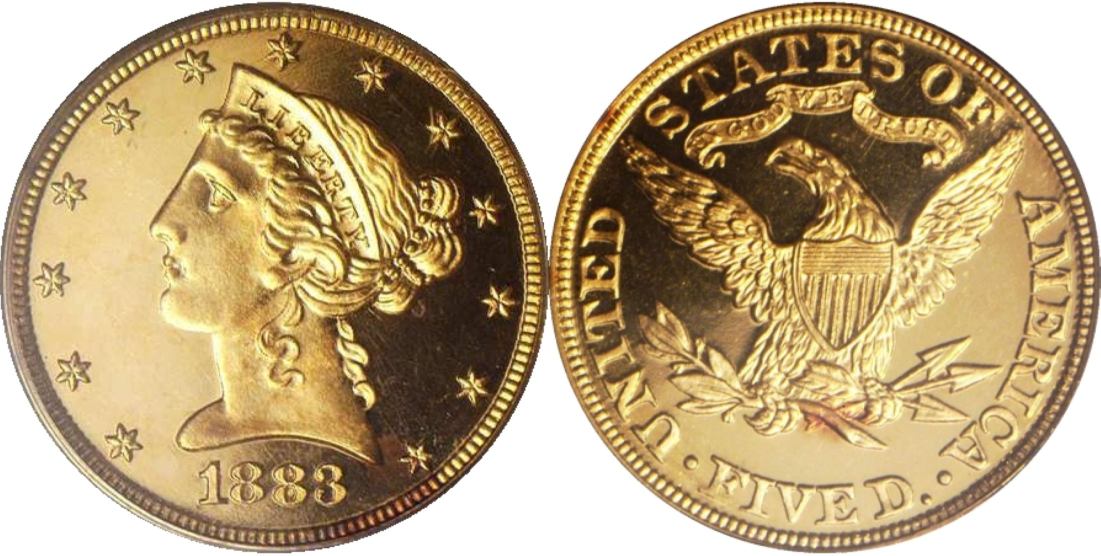 "PCGS PR65<BR>Ex Eliasberg<BR>Image courtesy of <a href=""http://www.ha.com"" target=""_blank"">Heritage Numismatic Auctions</a>"