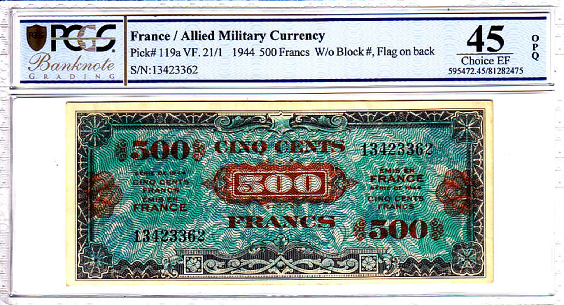 Cert 81282475 - Banknote Obverse
