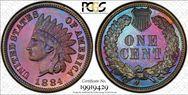 1884 1C  PR66BN