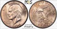 1972-D $1  MS66